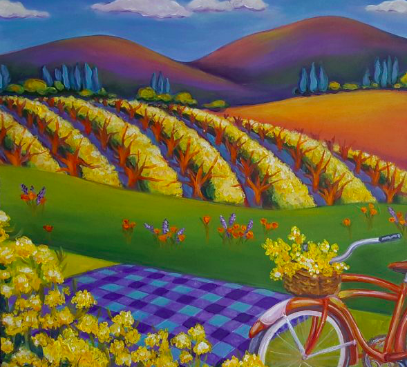 Arts in April begins in Calistoga
