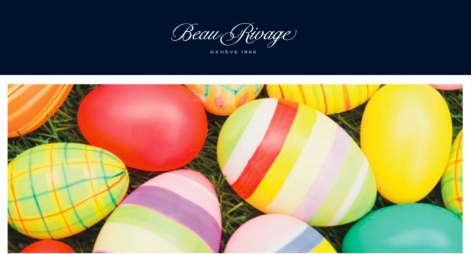 Spring Offer @ Beau-Rivage Geneva