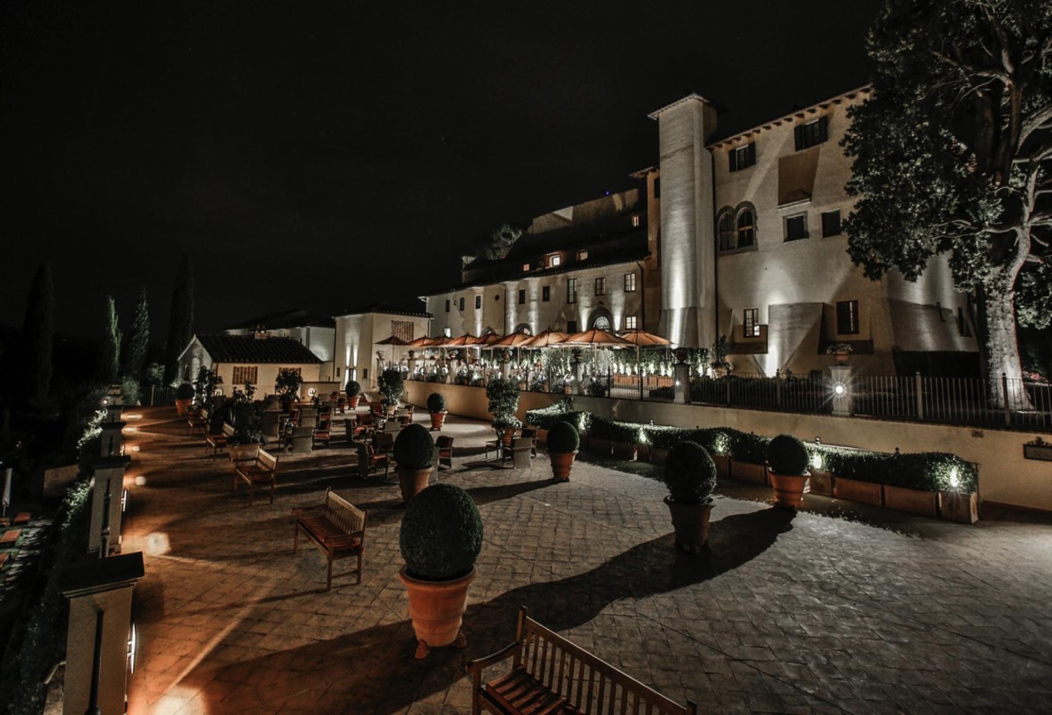 castello del nero by night