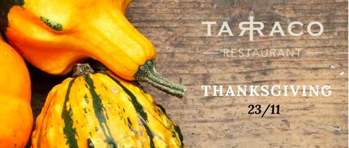 Thanksgiving in Panama @ Tarraco Restaurant, La Concordia Hotel